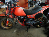 Mini Motocross QR Honda semi trail A1 Original 1984,+ CT70-90