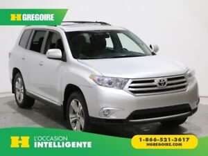 2013 Toyota Highlander 4WD 7 PASSAGERS CUIR TOIT MAGS CAMERA REC
