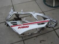 frame for 1989 YAM FJ 1200 MANY individual parts