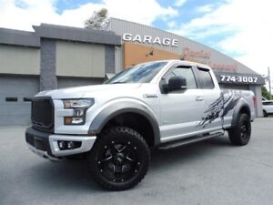 Ford F-150 4X4, XLT, SUPER CAB (KING CAB) LOOK RAPTOR, 2,7L 2017