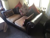 Sofas and foot stall