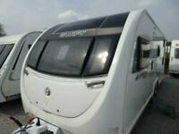 SWIFT SPRITE SUPER QUATTRO DB 2019 MODEL 6 BERTH FIXED BUNKS TOURING CARAVAN