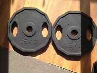 40kg Olympic weights