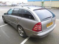 2005 MERCEDES-BENZ C200 ESTATE 2.1TD DIESEL AUTOMATIC AVANTGARDE SE LEATHER