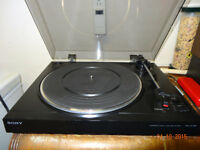 table tournante SONY ps-lx100 remis a neuf