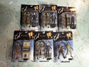 Set of 6 X-Files action figure from movie Series 1