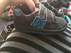 Like new boys DC sneakers size 11.5