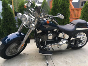 MINT! 2004 Harley Fatboy Ultra low kms / Stage 3