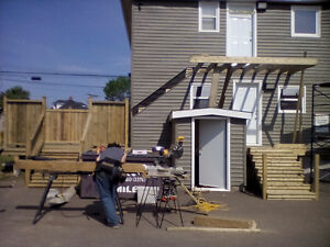CALL THE PRO'S.  FENCE. DECKS. SIDING. ROOFING (FREE QUOTES)