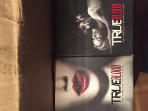 Criminal minds, True blood and Supernatural DVDs lot