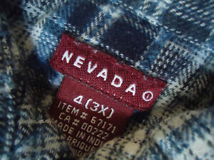 Boys Size 3 Long Sleeve Plaid Flannel Dress Shirt by Nevada Kingston Kingston Area image 5
