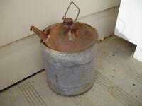 Antique Gasoline Container