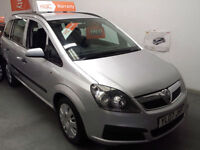 2007 VAUXHALL ZAFIRA 1.6cc LIFE - 7 SEATS - SUPERB CONDITION - 1 OWNER FROM NEW