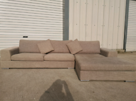 Dwell large grey corner sofa couch suite🚚🚚