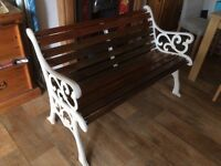 Lovely garden bench ideal Christmas present