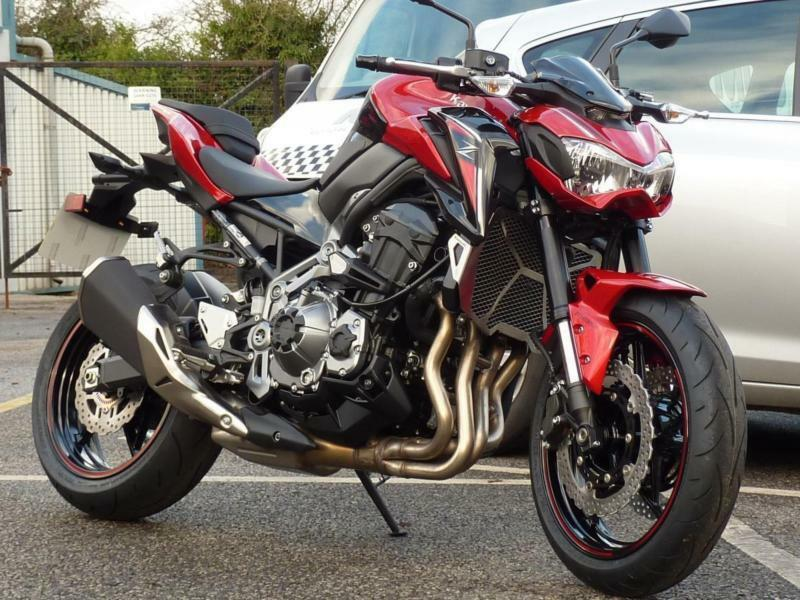kawasaki z900 70kw 2018 model candy persimmon red in orrell manchester gumtree. Black Bedroom Furniture Sets. Home Design Ideas