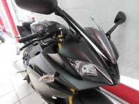 YAMAHA YZF-R125 ABS IN TECH BLACK. 17 REG ONLY 5 MILES, 125cc SPORTS BIKE...