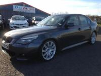 2009 09 BMW 530d M SPORT LCI AUTO METALLIC GREY FULLY LOADED