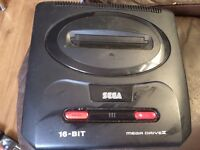Sega Megadrive 2 and 21 games