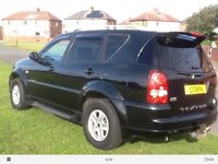 Ssangyong Rexton diesel automatic
