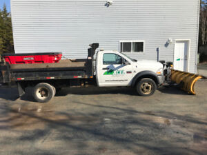 2011 Ram 5500 with dump body and 9' Fisher plow - diesel 4x4