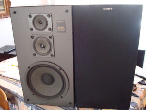 HAUT PARLEURS  SONY 3Voies  210 Watts  3way speakers