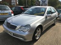 Mercedes 2.0 c180 avengard automatic 92k aylsham rd cars