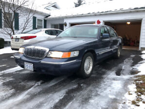 1998 Mercury Grand Marquis LS - Blue - 86 938 kms