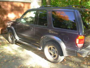 2000 Ford Explorer Sport SUV, Crossover  - Rust Free from BC