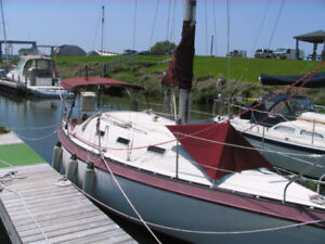 1982 Canadian Sailcraft CS27 27' Sailboat For Sale