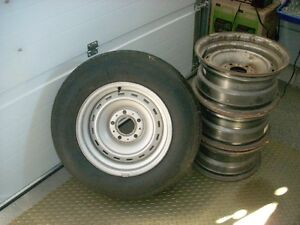 15 x8 GMC rally wheeels from 1986 pickup London Ontario image 1