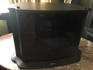 Sony TV stand with cabinet (black) - Price Negotiable