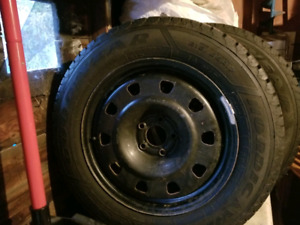 Rims and Tires 215 65r 17 winter tires