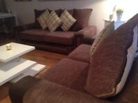 Large 3&2 Seater Sofas / Can Deliver