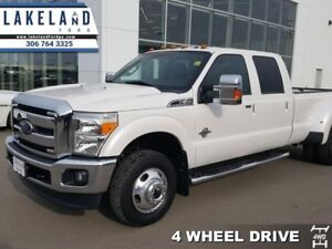 2013 Ford F-350 Super Duty Lariat  - Leather Seats - $378.58 B/W