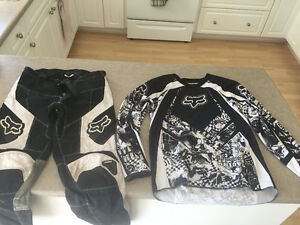 Youth Fox motocross/Dirtbike/ ATV gear pants & boots