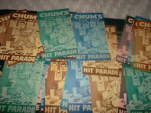 CHUM HIT PARADE and CKEY CHARTS WANTED