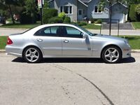Mercedes E 550 full equip 2008 + mag lorinser package AMG
