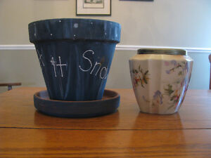 Vases and flower pots