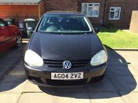 VW mk5 Golf. 1.6FSI. Perfect 1st car. Sale or swap