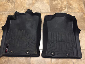 Weathertech laser-fit floor mats for Tacoma