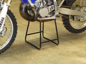 Vintage Dirt Bike Stand