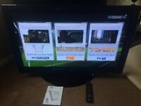 Lg 42inch plasma TV with remote and swivel stand excellent condition
