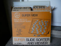 FOR SALE - Slide Sorter and Viewer