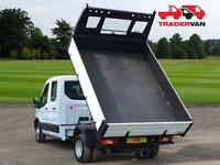 16 FORD Transit 350 2.2 TDCi 125ps L3 Long Wheel Base Double Cab Tipper DIESEL M