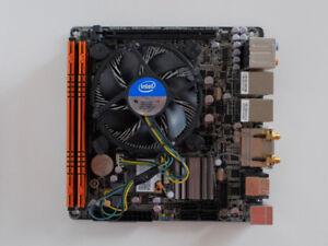 Intel i7-4770 + Gigabyte GA-Z87N-WiFi + 16GB HyperX DDR3 RAM