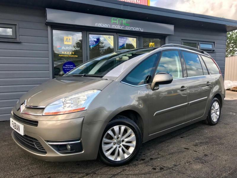 2008 citroen grand c4 picasso 2 0hdi 16v egs exclusive 7 seater top spec in swansea. Black Bedroom Furniture Sets. Home Design Ideas