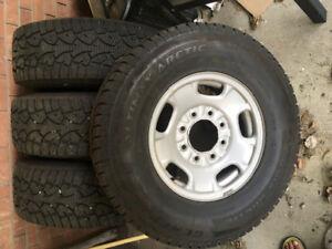 2013 Gmc 3/4 ton winter tires