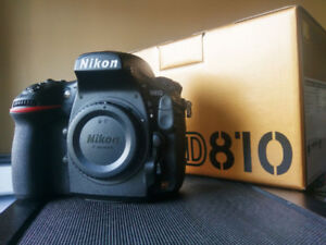 Nikon D810 owned by NPS Canada member