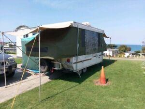Sun Wagon Camper Van with split system air-conditioniner.